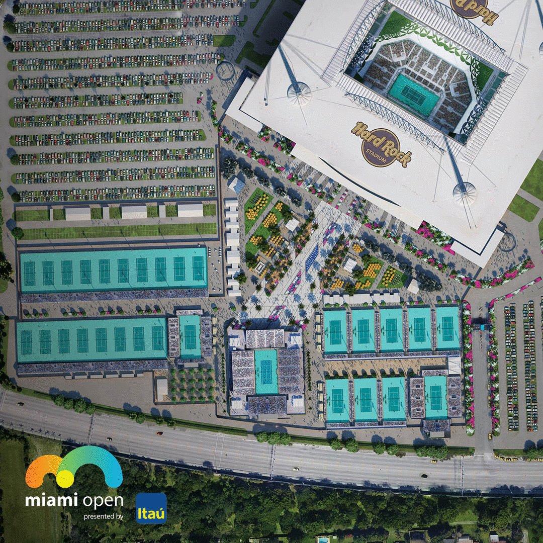 """hard rock stadium on twitter: """"construction on the new"""