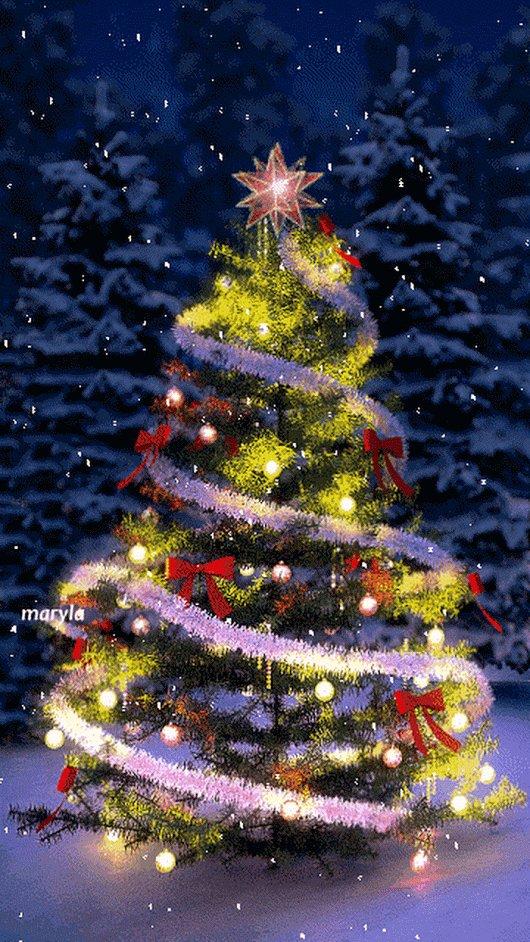 Анимации в картинках новогодние елки, картинка похудела