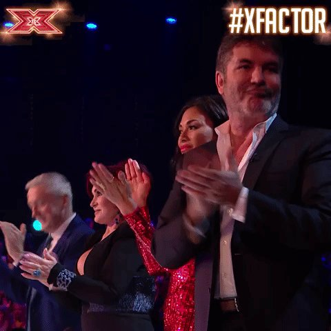 YASSS! Let's hear it for Friday 👏👏👏 #FRIYAY #XFactor https://t.co/ZaXS7G8xpU