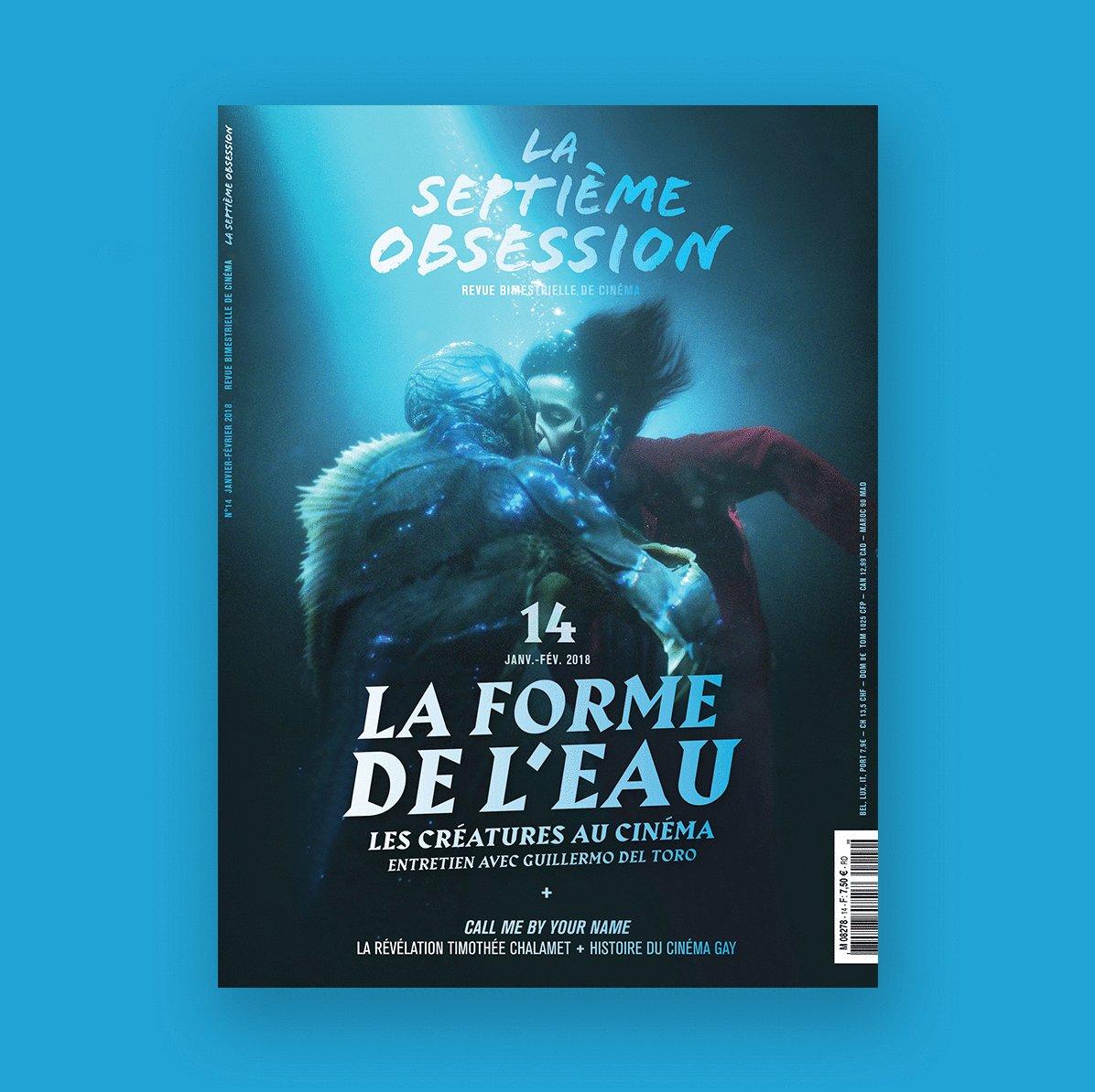 Notre N°14 est en kiosque avec 26 pages sur les créatures au cinéma ! #TheShapeOfWater #GuillermoDelToro #creature #monsters  - FestivalFocus