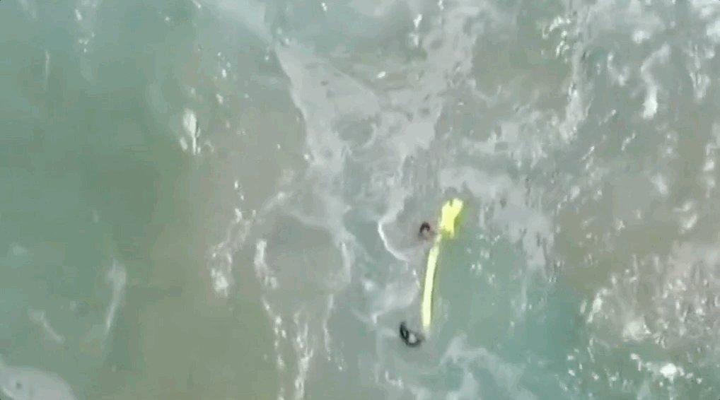 RT @franceinfoplus: Pour la première fois, des nageurs ont été secourus en mer par un drone https://t.co/MilGpIuS1G https://t.co/nHC6UhFWHA
