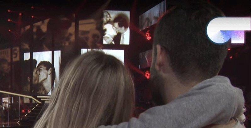 El mejor beso visto en @OT_Oficial despu...