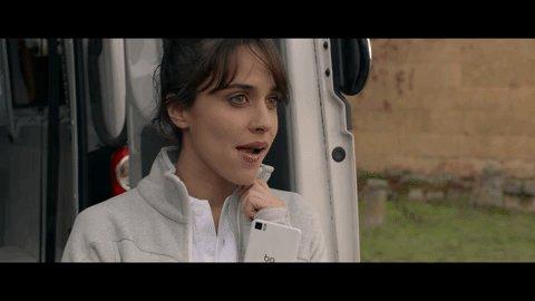 La cara que se le queda a @macarenagarci...