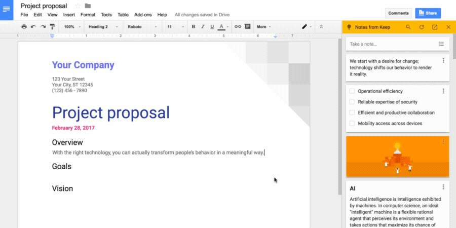 RT @builtbyteachers: Keep + googledocs = ✨. Easily drag and drop notes from Keep and add them to your documents. https://t.co/4QRrxAnbN0  —…