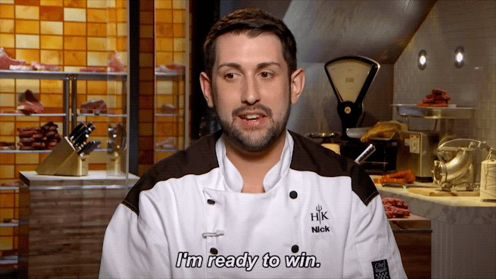 .@PrivateChefNick is in it to win it. #H...