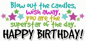 Happy Birthday Nicki. x