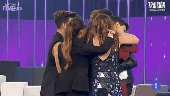 Se me parte todo. #OTGala11 https://t.co...