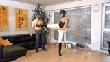 #kicking and #trampling with riding #boo...