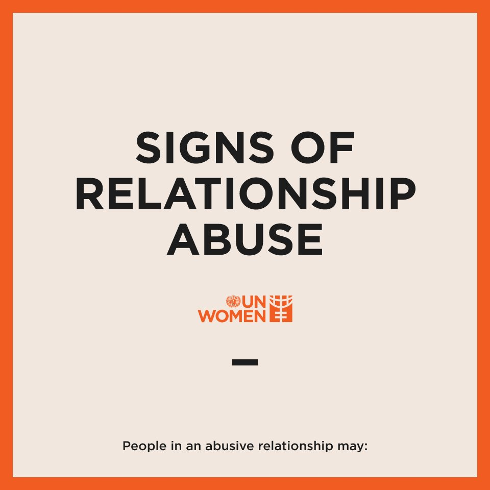Relationship abuse comes in many forms,...