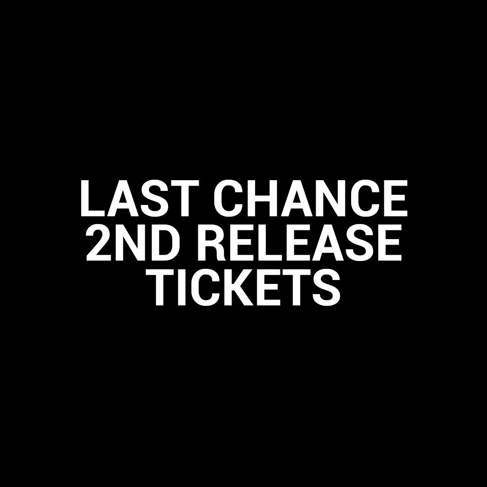Last chance to get 2nd release tickets for our return to @FireVauxhall ! Tickets: https://t.co/7g7Uugr676
