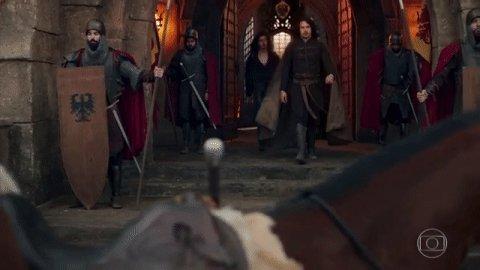 Afonso indo ao encontro de Amália. Meu s...