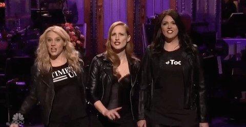 Jessica Chastain celebrates #WomensMarch...