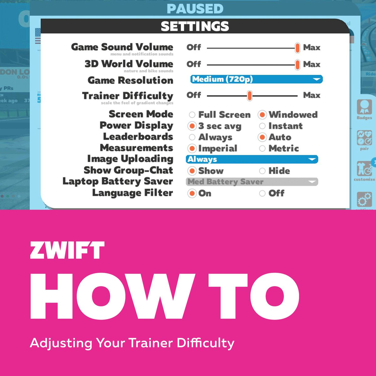 Zwift On Twitter Change How Zwifts Hills Feel In Three Quick - Which language is spoken by maximum in world