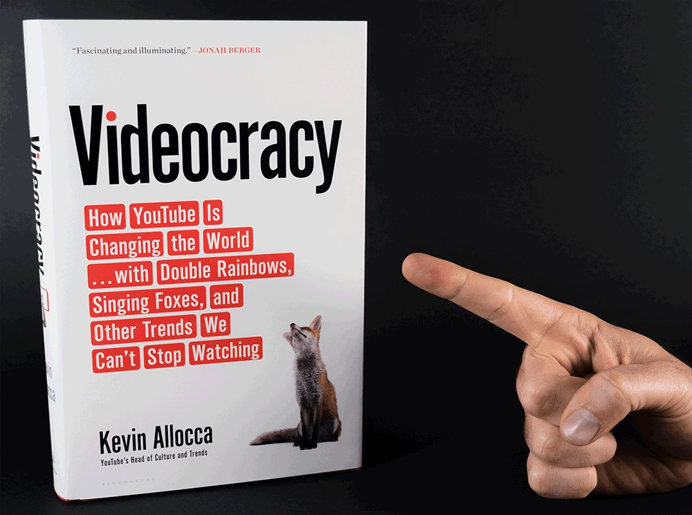 VIDEOCRACY, my book about videos and cul...