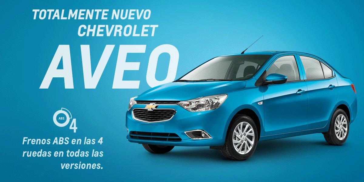 Chevrolet On Twitter Veo Un Totalmente Nuevo Aveo Con 4