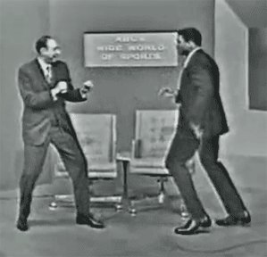The Ali Shuffle. Look out, Howard!