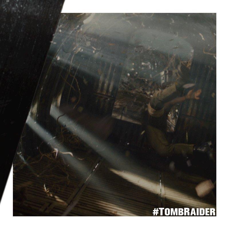 Uji kemampuanmu. #TombRaider di bioskop...