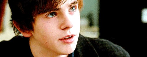 Happy birthday to the talented Freddie Highmore!