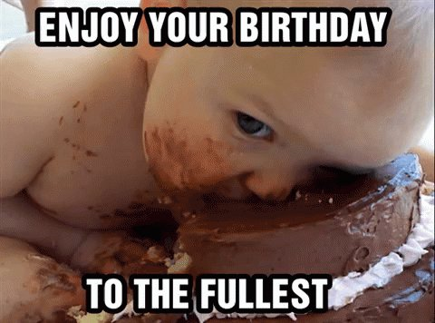 Happy Birthday     I hope you have a great day with lots of cake, presents and love.