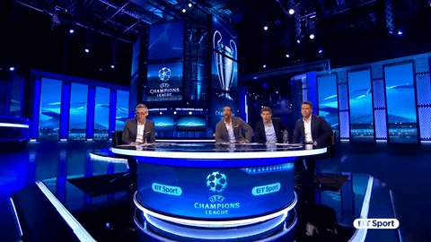 The Champions League is back... TONIGHT 🙌 🇮🇹 Juventus vs. Spurs 🏴 🇨🇭 Basel vs. Man City 🏴