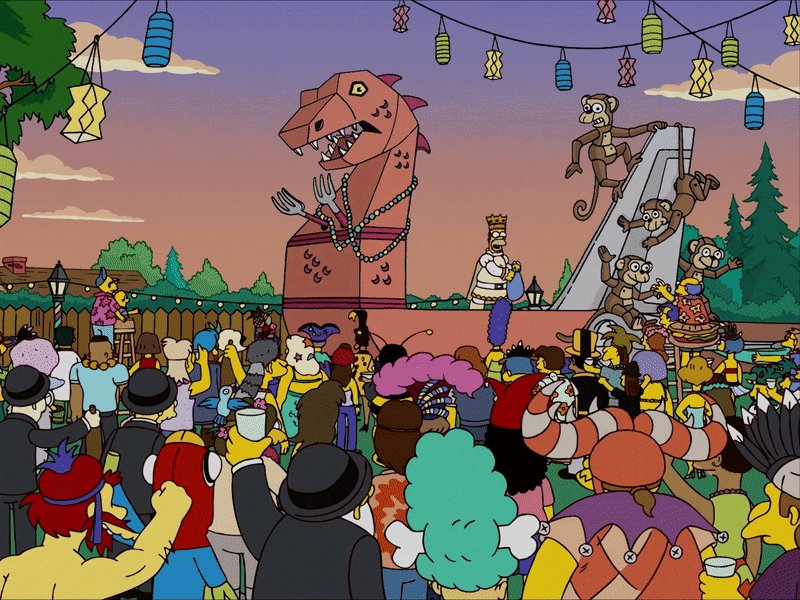 Homer Simpson, the King of #FatTuesday!...