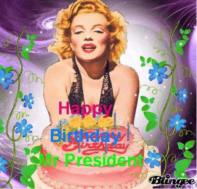 Happy Birthday Mr President Merci pour tous vos nombreux dons et les Autre dons à venir
