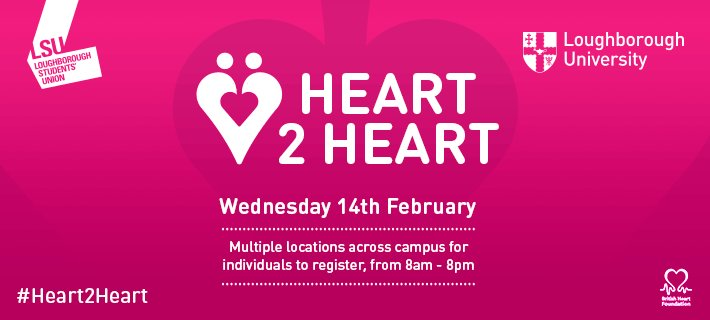 As part of #Heart2Heart, we have several sessions on how to perform CPR on infants throughout the day. 🗺�: Hazlerigg Building �: 12:30, 13:30, 17:30, 18:30. Find out more here: bit.ly/2mTiML9