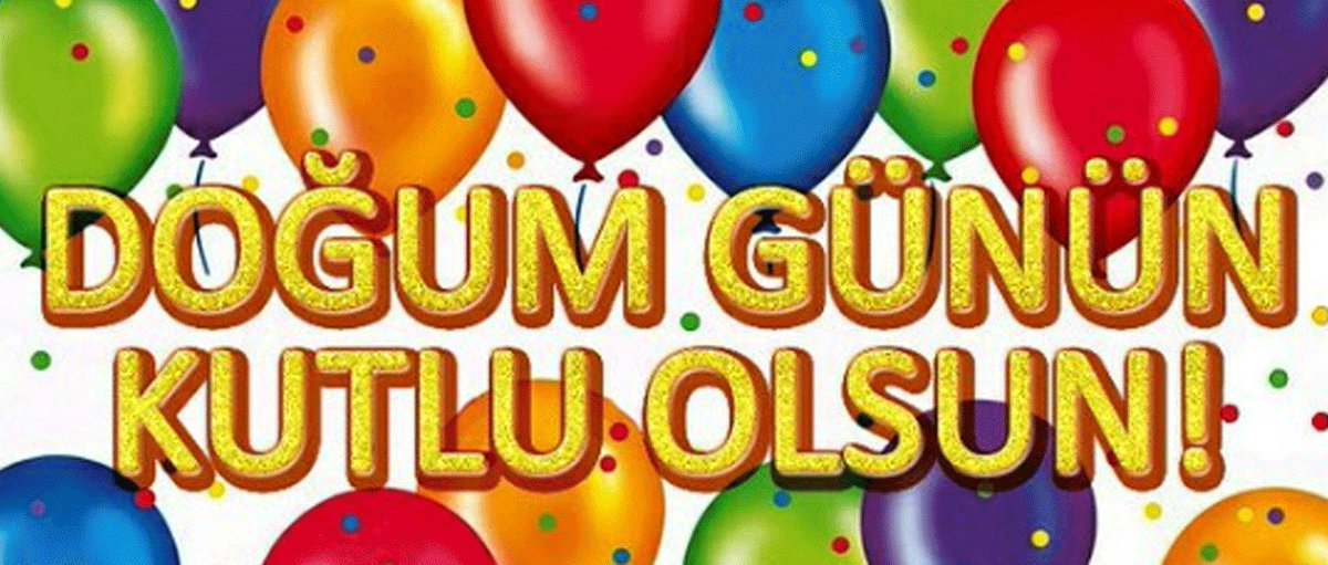 Поздравления с днем рождения для мужчины на турецком