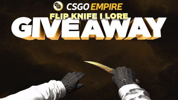 Flip Knife   Lore 💛  -RT -Follow -Enable...