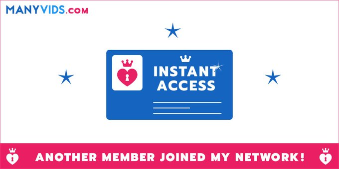 New Sale! New member! Join the club here https://t.co/ncNg2XEvAH @manyvids #MVSales https://t.co/B1o