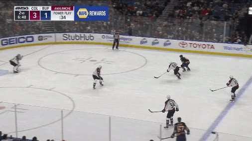 That's Casey Nelson's first NHL goal!! #...