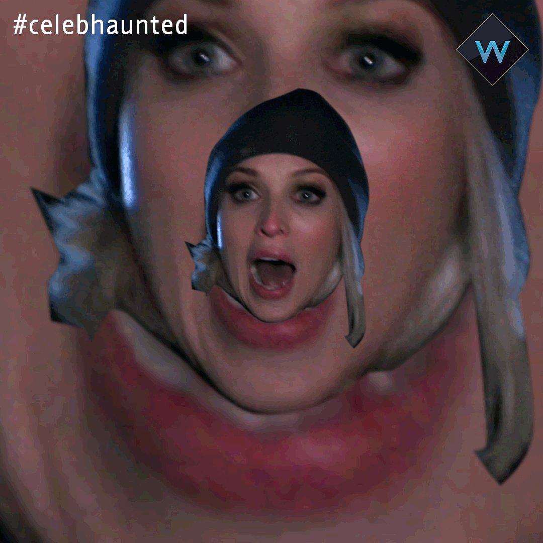 RT @wchannel: In honour of @misJORGIEPORTER's woodlands ghost hunting on #CelebHaunted. https://t.co/5BVCcNTPi5