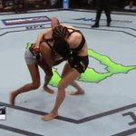 RT @ufc: Beautiful take down by @AngieOverkill! #U...
