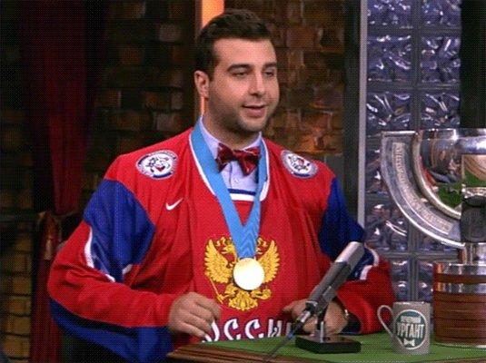 Хоккей. Финал Олимпийских игр 🏆 #РоссияГ...