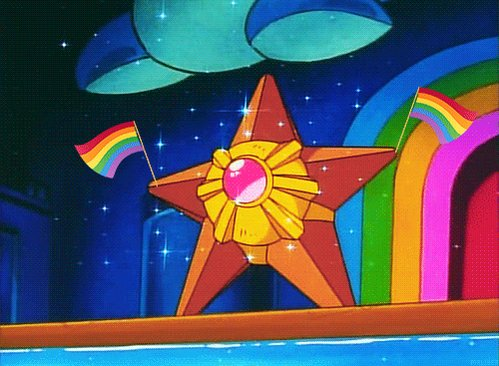 This is the rare Pride Staryu. retweet f...