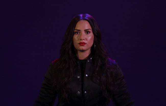 #TellMeYouLoveMYGIFS me after I got a ticket to see you live💜💜💜💜💜💜 @ddlovato cant wait to see you omg I waited for almost 10 years I am crying😭😭😭💜 love you soooo muchhhh