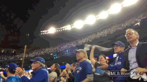 @annetdonahue Youre cordially invited to the ballpark. Peanuts, cracker jack and you can root, root, root for the #BlueJays. Sounds like a plan! �