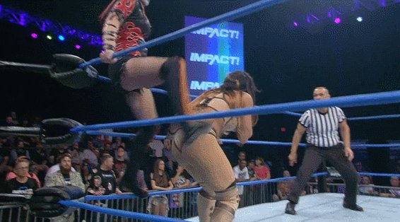 .@WeAreRosemary has Hania trapped in the Upside Down. #IMPACTonPop
