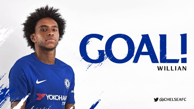 ITS THAT MAN AGAIN! WILLIAN STRIKES! 0-1 [32] #MUNCHE