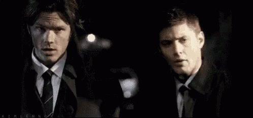 uns agentes desses bicho #SupernaturalNo...