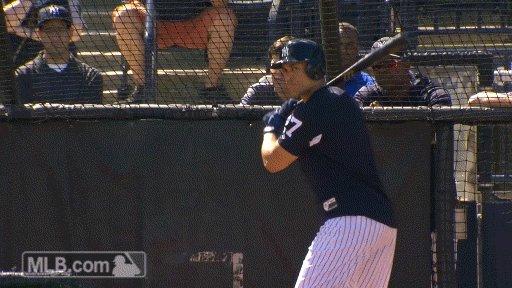 Let the homers begin.   (via @MLBGIFs) h...