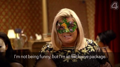 RT @E4Tweets: There's really only one @missgemcollins isn't there? #CelebsGoDating https://t.co/PyZaY7I094