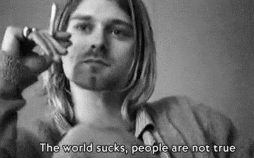 Bear in my mind 4evah !! Happy Birthday arwah Kurt Cobain . The world miss ya so fucking much ..