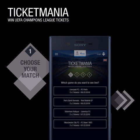 Join Ticketmania now and book your place at a round of 16 second leg! ⚽️🎫  ➡️ Choose your match ➡️ Answer the quiz question ➡️ Take part for free ➡️ Watch the #UCL live!  ➡️ gazprom-football.com/ticketmania/twt