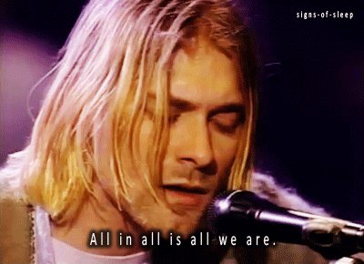 Happy birthday,Kurt Cobain.