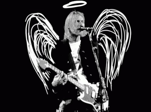 Happy birthday to the one and only Kurt Cobain, truly a rock legend