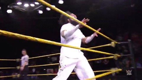 Well this is a #FIESTA if we ever saw one... @WWENoWayJose #WWENXT