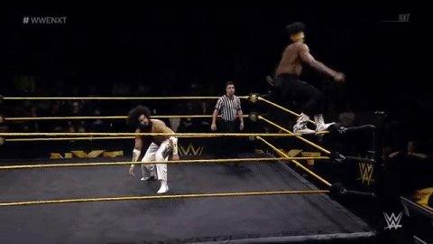 .@WWENoWayJose just made this a no-fly zone! #WWENXT