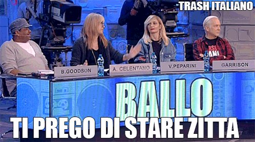 Don't mess with Celentano. #Amici17 http...