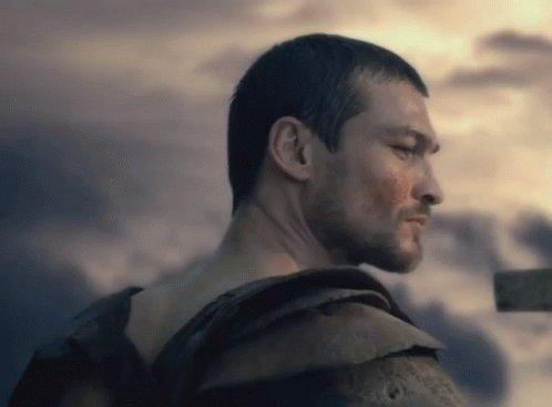 #TeSigoSiViste Spartacus. Andy Whitfield...